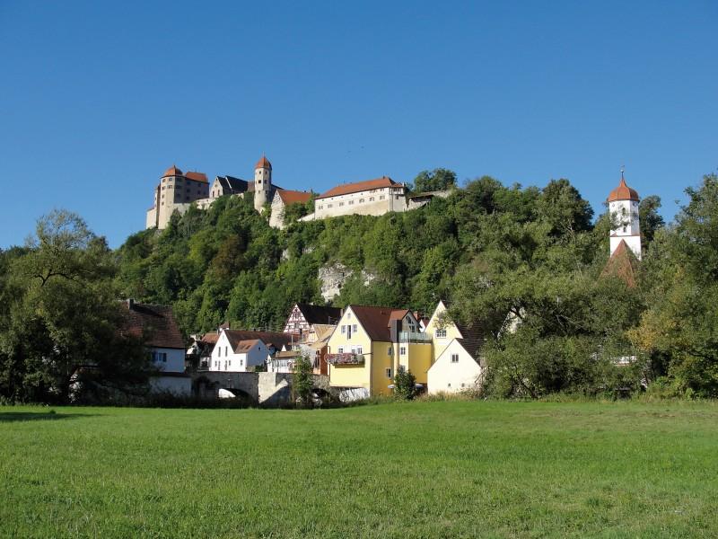 Burg und Stadt Harburg, Cattery von der Harburg, www.birmazucht-harburg.de